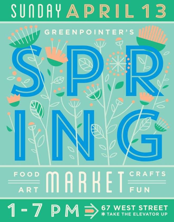 Greenpointers Spring Market!